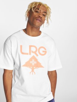 LRG T-Shirty Classic Stack bialy