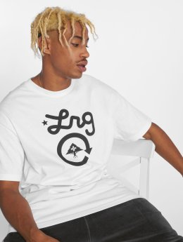 LRG T-Shirty Cycle Logo bialy