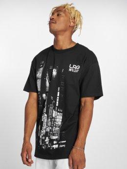 LRG T-Shirty Nippon Nights czarny