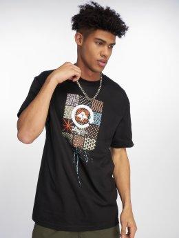 LRG T-Shirty Drip Logo czarny