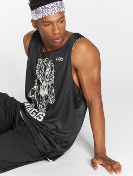 LRG Tank Tops Savages Reversible Mesh musta