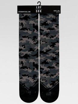 LUF SOX Chaussettes Classics Camo Ash camouflage