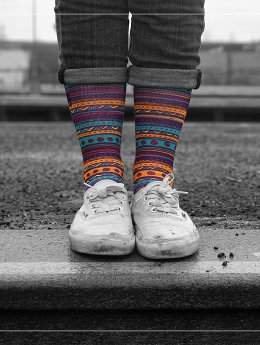 LUF SOX Chaussettes La Paz multicolore