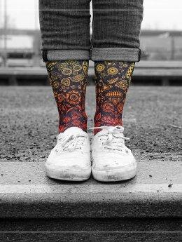 LUF SOX Chaussettes Sugar Skull multicolore
