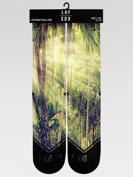 LUF SOX Chaussettes Classics Jungle vert