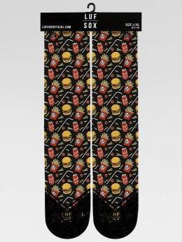 LUF SOX Socken Classics King Menu bunt