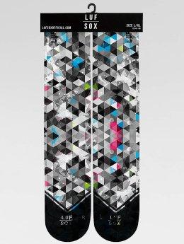 LUF SOX Socken Classics Geogram  grau