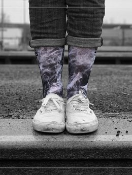 LUF SOX Socken Black Dusk schwarz