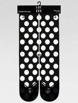 LUF SOX Socken Classics Big Dots schwarz