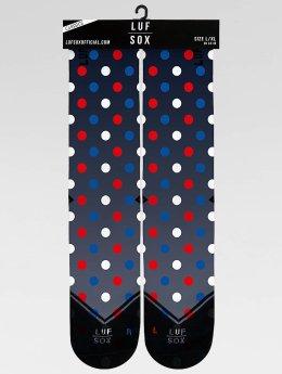 LUF SOX Sokken Classics Dootty blauw