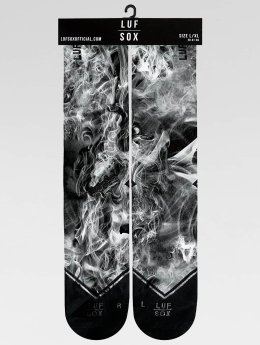 LUF SOX Sokken Classics Black Dust zwart