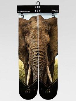 LUF SOX Strømper Classics Elephant mangefarvet