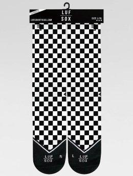 LUF SOX Strømper Classics Chessboard sort