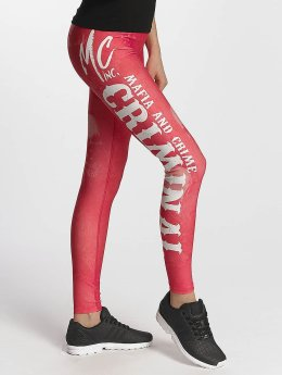 Mafia & Crime Leggings/Treggings Criminal Girls red
