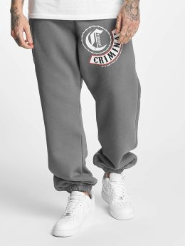 Mafia & Crime Sweat Pant Criminal gray
