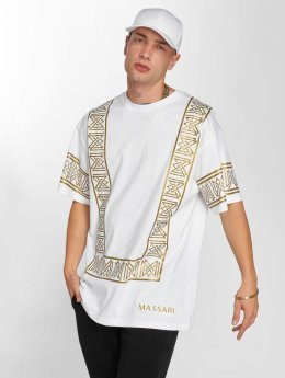 Massari t-shirt Golden wit