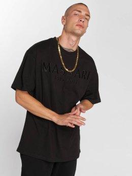 Massari t-shirt Finn  zwart