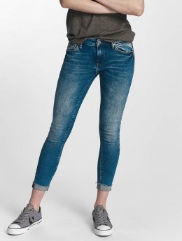 Mavi Jeans Облегающие джинсы Lexy Mid Rise Super синий
