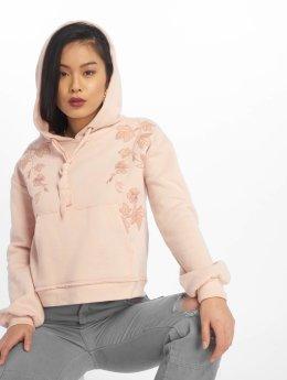 Mavi Jeans Толстовка Embroidery розовый