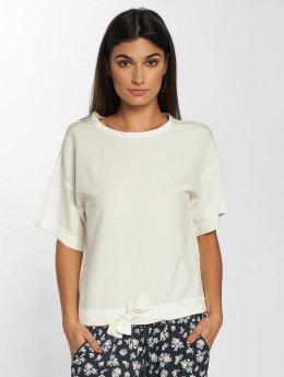 Mavi Jeans Blouse & Chemise Short Sleeve blanc