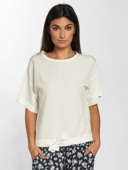 Mavi Jeans Blouse Short Sleeve wit