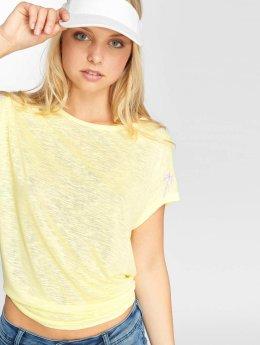 Mavi Jeans Hihattomat paidat Short keltainen