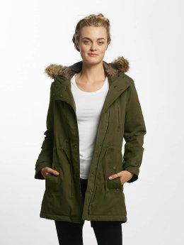 Mavi Jeans Manteau hiver Hooded vert