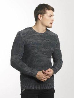 Mavi Jeans Pullover Jacquard grau