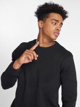 Mavi Jeans Pullover Ribbed schwarz