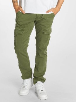 Mavi Jeans Yves Cargo Button Fly Cargo Pants Leaf Coloured