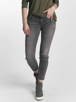 Mavi Jeans Skinny jeans Adriana Mid Rise Super grijs