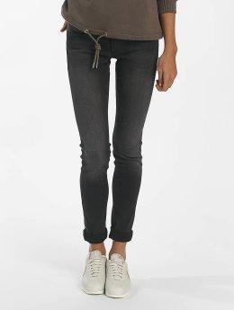 Mavi Jeans Skinny Jeans Adriana Smoke schwarz