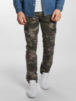 Mavi Jeans Slim Fit Jeans Yves Cargo Button Fly blauw