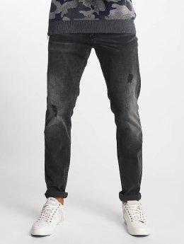 Mavi Jeans Slim Fit Jeans Marcus grijs