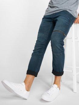 Mavi Jeans Slim Fit Jeans Dean Biker modrá