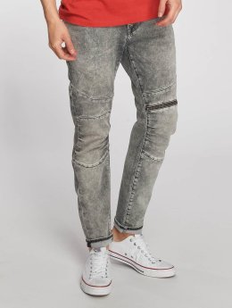 Mavi Jeans Straight Fit Jeans Dean Biker šedá