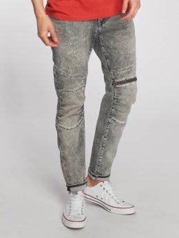 Mavi Jeans Straight Fit Jeans Dean Biker grå