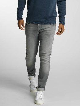 Mavi Jeans Straight fit jeans James grijs