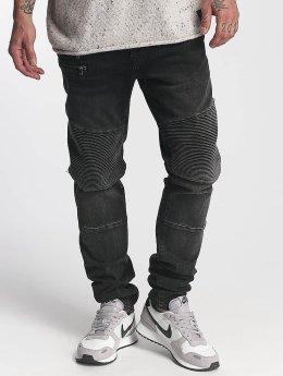 Mavi Jeans Straight fit jeans Jim zwart