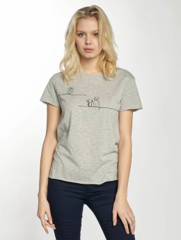 Mavi Jeans t-shirt Animal grijs