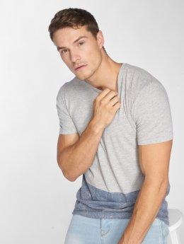 Mavi Jeans T-Shirt Color Block Tee gris