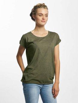 Mavi Jeans T-Shirt Triangle grün