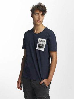 Mavi Jeans T-Shirt Printed Pocket indigo