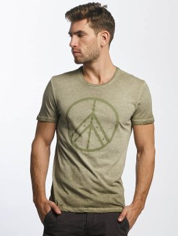 Mavi Jeans T-Shirt Peace olive
