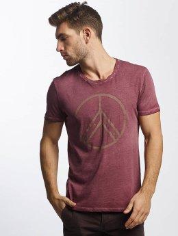 Mavi Jeans T-Shirt Peace pourpre