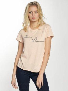 Mavi Jeans T-Shirt Animal rosa