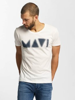 Mavi Jeans T-Shirt Printed weiß