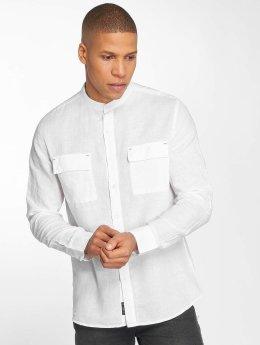Mavi Jeans T-Shirt Double Pocket weiß