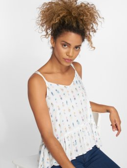 Mavi Jeans Topy/Tielka Printed biela