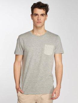 Mavi Jeans Tričká Pocket šedá